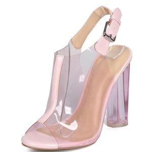 Metro Pink Chunky Heels 👠 Just In ❗️ Size:9 $45